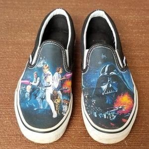 Van's Star Wars Size 7.5 Shoes